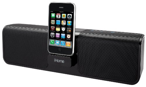 iHome Rechargeable Portable Stereo System for iPhone/iPod - Gunmetal Grey Black Friday & Cyber Monday 2014