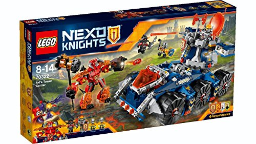 LEGO 70322 - Set Costruzioni Nexo Knights  Il Porta-Torre Di Axl
