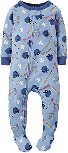 Carters Baby Boys Baseball Sleep & Play 24 Months Blue