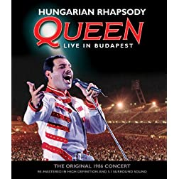 Hungarian Rhapsody: Queen Live in Budapest [Blu-ray/2CD]