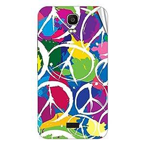 Garmor Designer Mobile Skin Sticker For Huawei Y518 - Mobile Sticker