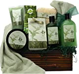 Green Tea Zen Calming Spa Bath and Body Set Gift Basket