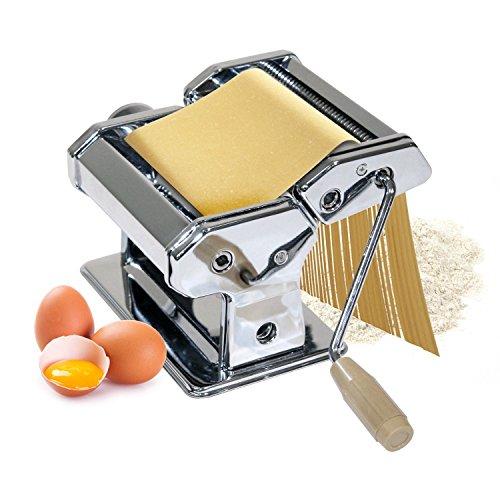 Machine à pâtes en acier chromé pour pâtes, spaghettis et lasagnes