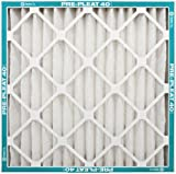 Flanders PrecisionAire 80055.011824 18 by 24 by 1 Pre Pleat 40 MERV 8 LPD Air Filter, 12-Pack