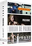 Coffret Brian De Palma : Blow Out + Pulsions + Furie [Blu-ray]
