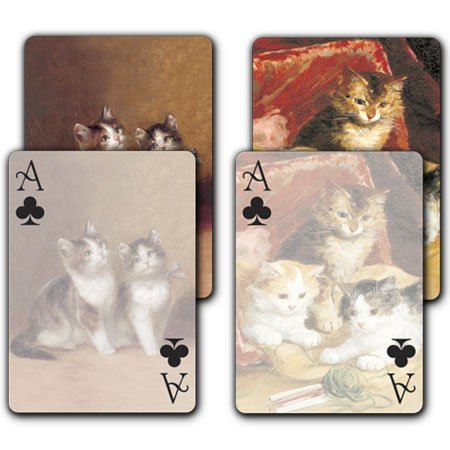 Kittens / Kittens at Play - Double Deck Playing Cards