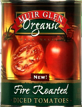 Muir Glen Diced Fire Roasted Tomatoes 28.0 OZ (Muir Glen Tomatoes Diced 28 Oz compare prices)