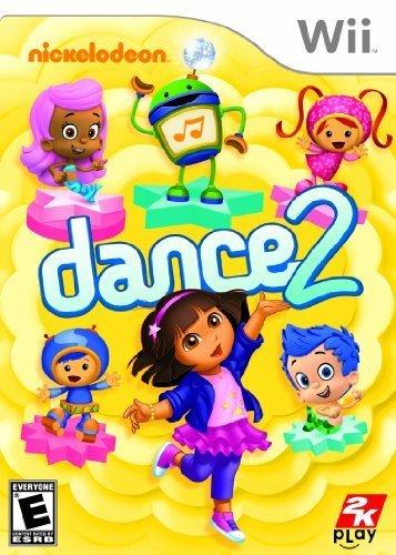 2K Games Nickelodeon Dance 2 (Nintendo Wii) For Nintendo Wii For Video Games (Catalog Category: Nintendo Wii / Music & Rhythm )