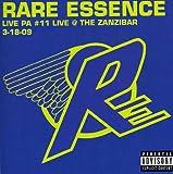 echange, troc Rare Essence - Live Pa #11: Live at Zanzibar