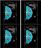 4 x Sachets Of Dylon Fabric Dye - Hand Use - Bahama Blue