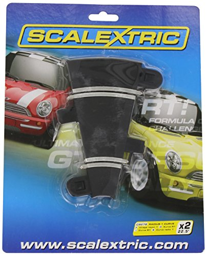 Scalextric C8278 Track Radius - 22.5 Degrees Curve - 1