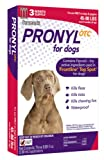 Pronyl OTC 45 to 88-Pound Dog Flea and Tick Sqz-On Flea and Tick Remedy, 3-Count