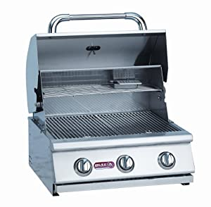 Bull Outdoor Products 06328 Steer 3-Burner Stainless Steel Grill Head, Liquid Propane (Discontinued by Manufacturer)