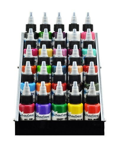 Small Exhibition Stand Sizes : Beauticom black acrylic tattoo ink small display stand