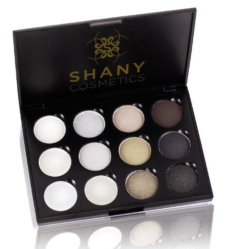 SHANY 12 Palette de couleurs, yeux charbonneux, 6