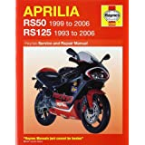 Aprilia rs50 and 125 service and repair manual
