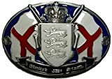 United We Stand Belt Buckle + display stand