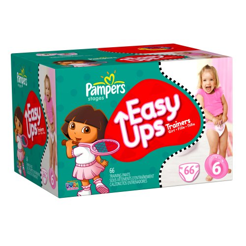 Pampers Easy Ups Trainers For Girls