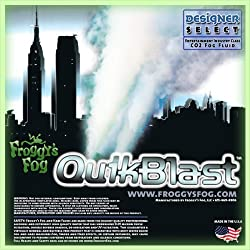 4 Gal - QuikBlast - Designer Select CO2 Blast Effect Fog Machine Fluid from Froggys Fog