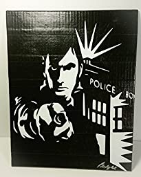 Duct Tape Art Piece of Dr. Who