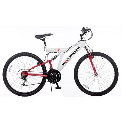 "Woodworm GXI PRO Dual Suspension 26"" Mens Mountain Bike"