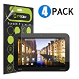 Evecase Clear & Anti-Glare Matte Screen Protector Mix Set for Toshiba Excite Pro - 10.1inch Tablet (AT15LE-A32 / AT10LE-A-108 ) - 4 Pack