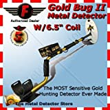 Fisher Gold Bug-2 Metal Detector with 6 1/2&quot Elliptical Search Coil