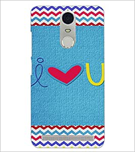 PrintDhaba Quote D-3599 Back Case Cover for LENOVO K5 NOTE (Multi-Coloured)