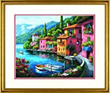 Dimensions Needlecrafts Lakeside Village Counted Cross Stitch