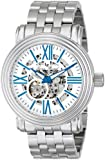 Lucien Piccard Men's LP-11912-23S Domineer Analog Display Chinese Automatic Silver Watch