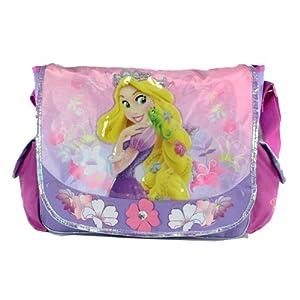 Purple Rapunzel Messenger Bag - Tangled Laptop Bag by KDJ