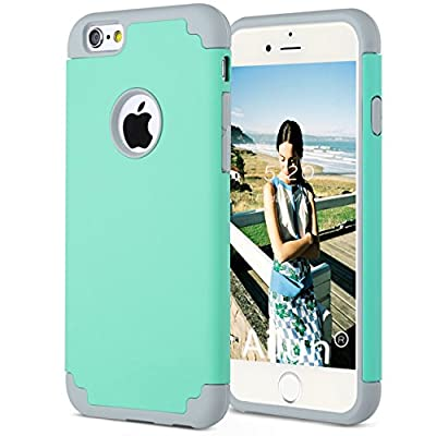 Ailun iPhone 6/6s Cube Dual Layer PC Silicone Combination FBA from Siania