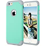 iPhone 6s plus Case,iPhone 6 plus Case,[5.5inch]by Ailun,Soft Interior Silicone Bumper&Hard Shell PC Back,Shock-Absorption&Skid-proof,Anti-Scratch Hybrid Dual-Layer Cover,Siania Retail Package[Green]
