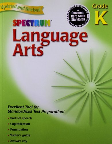 Language Arts, Grade K (Spectrum)