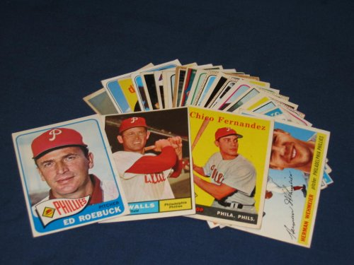 25 Different Vintage Philadelphia Phillies Topps Baseball Cards from 1955-1969 - Shipped in Protective Display Album! - Buy 25 Different Vintage Philadelphia Phillies Topps Baseball Cards from 1955-1969 - Shipped in Protective Display Album! - Purchase 25 Different Vintage Philadelphia Phillies Topps Baseball Cards from 1955-1969 - Shipped in Protective Display Album! (Topps, Toys & Games,Categories,Games,Card Games,Collectible Trading Card Games)