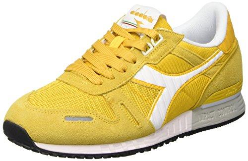 Diadora Titan Ii Scarpe Low-Top, Unisex adulto, colore giallo (35040 giallo bacchetta), taglia 44