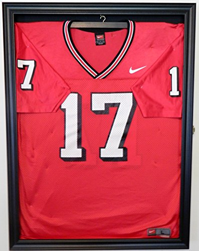 Football Jersey Display Case Shadow Box. Must See!!!! (Soccer Jersey Display Case compare prices)