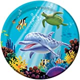 Creative Converting Ocean Party 8 Count Paper Dinner Plates