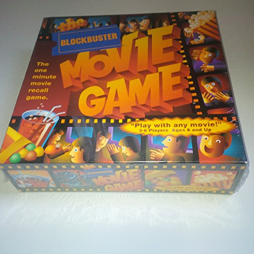 The Blockbuster Movie Game -- The One Minute Movie Recall Game