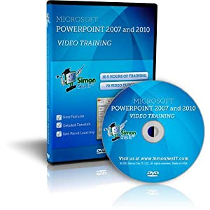Microsoft Power Point Trial on Amazon Com  Learn Microsoft Powerpoint 2007 And 2010 Software Training