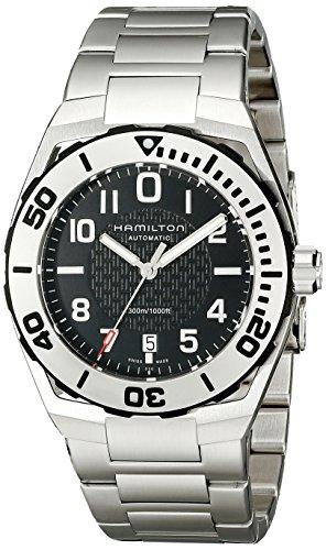 [ハミルトン]HAMILTON 腕時計 Khaki Navy SUB(カーキ ネイビー サブ) オート H78615135 メンズ 【正規輸入品】