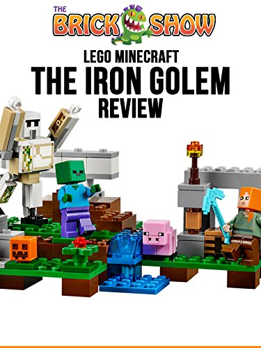 LEGO Minecraft The Iron Golem Review (21123)