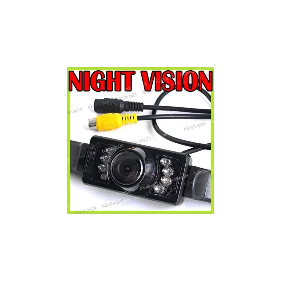 CMOS Waterproof 7 LEDs Car Reverse Rear View Rearview NTSC Camera 135°