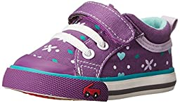 See Kai Run Kristin Sneaker (Toddler), Purple, 8 M US Toddler