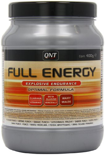 QNT Full Energy 400 g Punch Energy, Performance and Endurance Drink Powder