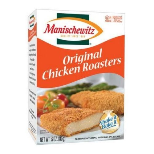 MANISCHEWITZ Roasters For Chicken Mix , 3-Ounce Boxes (Pack of 12) (Shake And Bake Original Chicken compare prices)