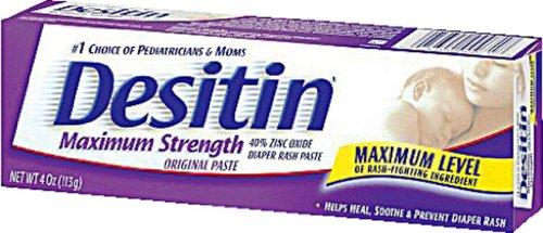 Desitin Diaper Rash Maximum Strength Original Paste 4 Oz (113 G)