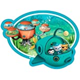 Octonauts Party Shaped Paper Plates x 8