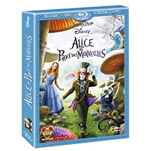 Alice In Wonderland - Combo Blu-ray + DVD + Copie Digitale (zone 2)