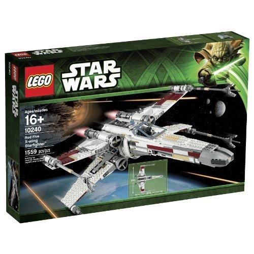 Lego Star Wars X-Flügel-Sternenjäger/Spielzeug Rot, 10240